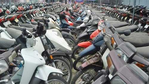 Phòng Cảnh sát QLHC về TTXH - Công an tỉnh Bắc Giang: Thông báo tìm chủ sở hữu, người quản lý phương tiện vi phạm hành chính